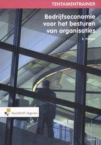 Boek cover Tentamentrainer bedrijfseconomie voor besturen van organisaties van A.W.W. Heezen