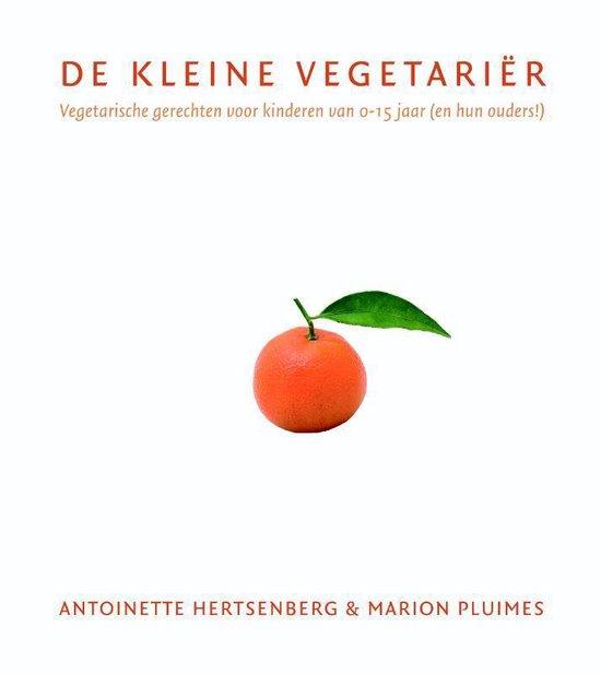Cover van het boek 'De kleine vegetarier'