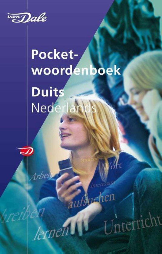 Boek cover Van Dale pocketwoordenboek  -   Van Dale Pocketwoordenboek Duits-Nederlands van  (Paperback)