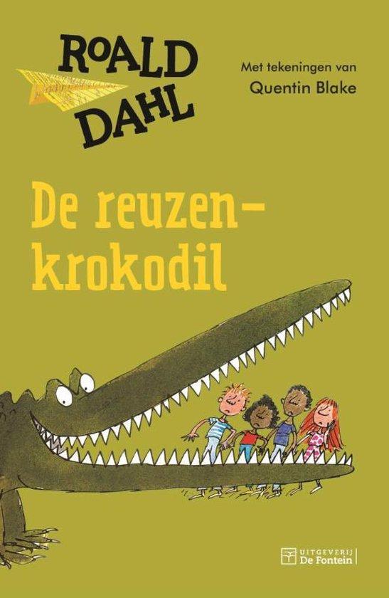 Boek cover De reuzenkrokodil van Roald Dahl (Paperback)
