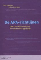 Boek cover De APA-richtlijnen van Petra Poelmans (Paperback)