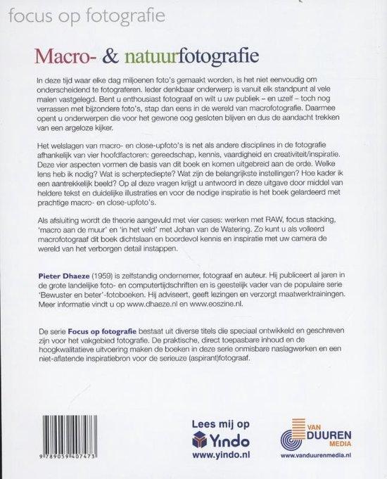 Focus op fotografie  -   Macro- en natuurfotografie