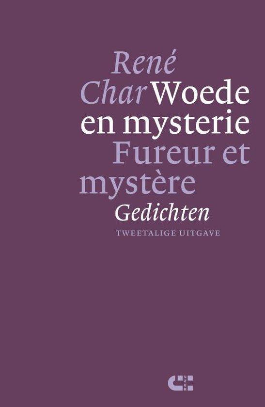 Boek cover Woede en mysterie ; Fureur et mystère van René Char (Hardcover)