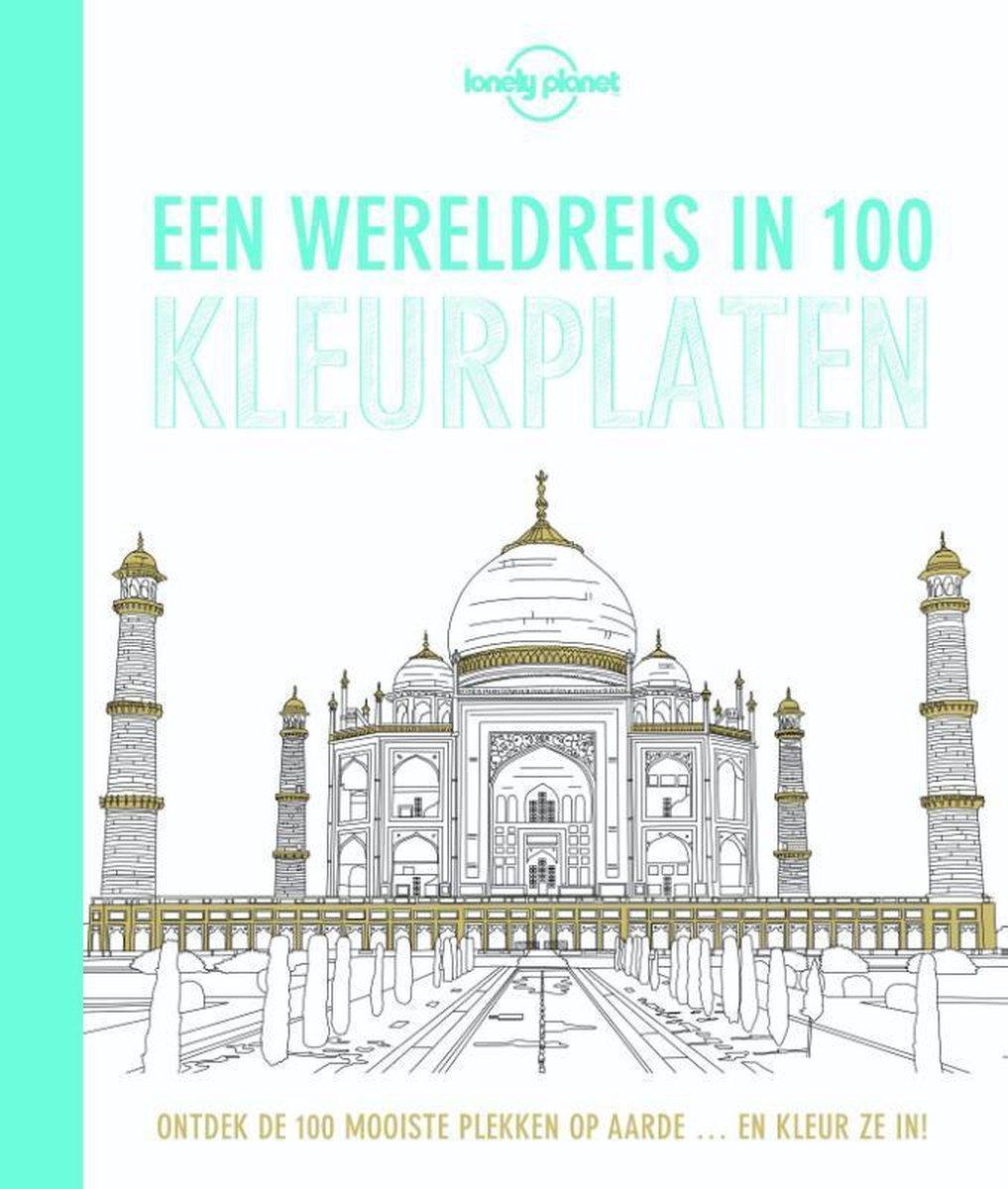 Bol Com Een Wereldreis In 100 Kleurplaten Lonely Planet 9789045209777 Boeken