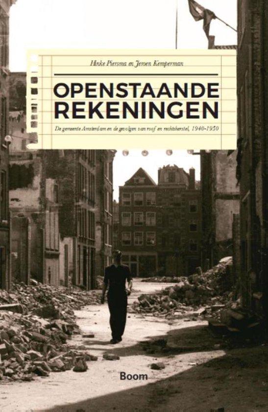 Boek cover Openstaande rekeningen van Hinke Piersma (Paperback)