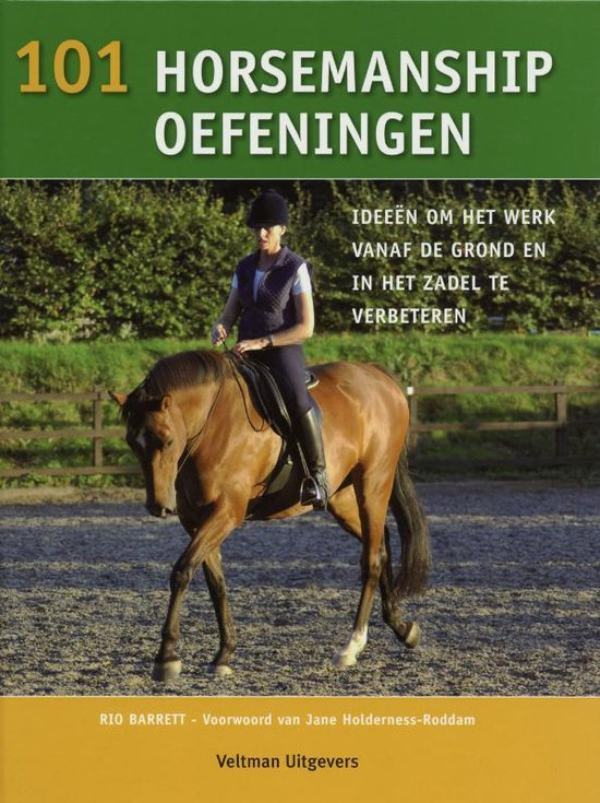 Boek cover 101 horsemanship oefeningen van R. Barret (Hardcover)
