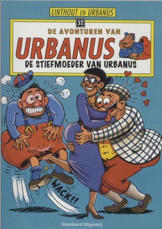 Cover van het boek 'De stiefmoeder van Urbanus' van  Urbanus en W. Linthout