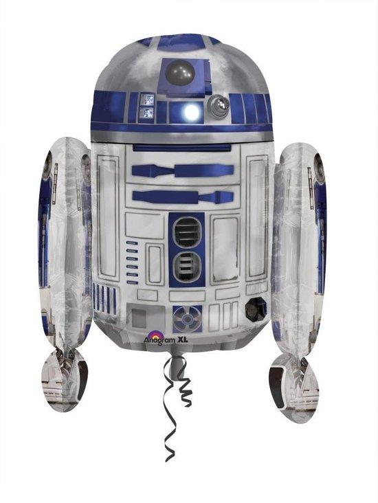 AMSCAN - R2D2 Star Wars ballon - Decoratie > Ballonnen
