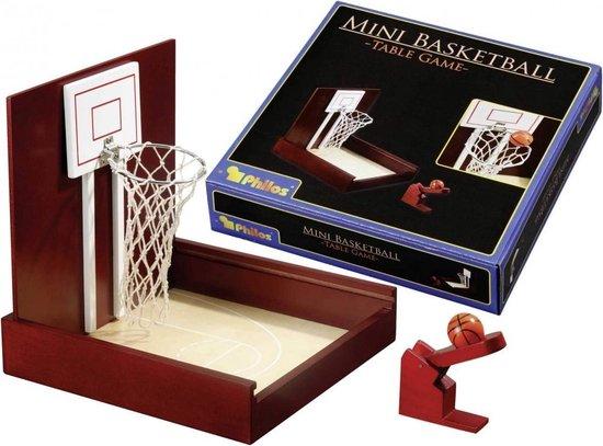 Afbeelding van het spel Philos 3236 basketbal arcade game Bruin, Wit Hout