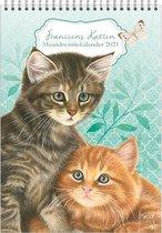 Franciens Katten Maandnotitiekalender - Kittens (formaat A4)
