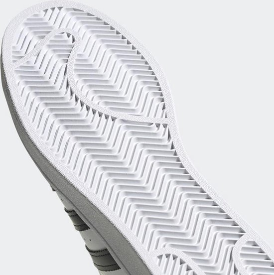 adidas Superstar Heren Sneakers - Cloud White/Core Black/Cloud White - Maat 47 1/3