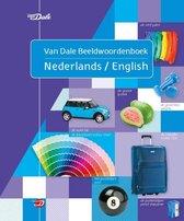 Boek cover Van Dale beeldwoordenboek  -   Van Dale beeldwoordenboek Nederlands/English van Hans de Groot (Paperback)