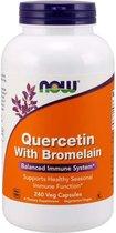 Now Quercitina Con Bromelina 120 Vcaps