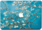 Lunso - cover hoes - MacBook Air 13 inch (2010-2017) - Van Gogh amandelboom