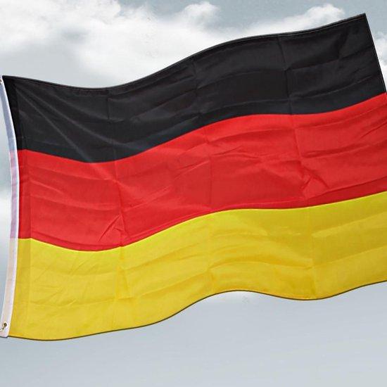 Deuba vlaggenmast 630cm Duitsland | Telescopisch