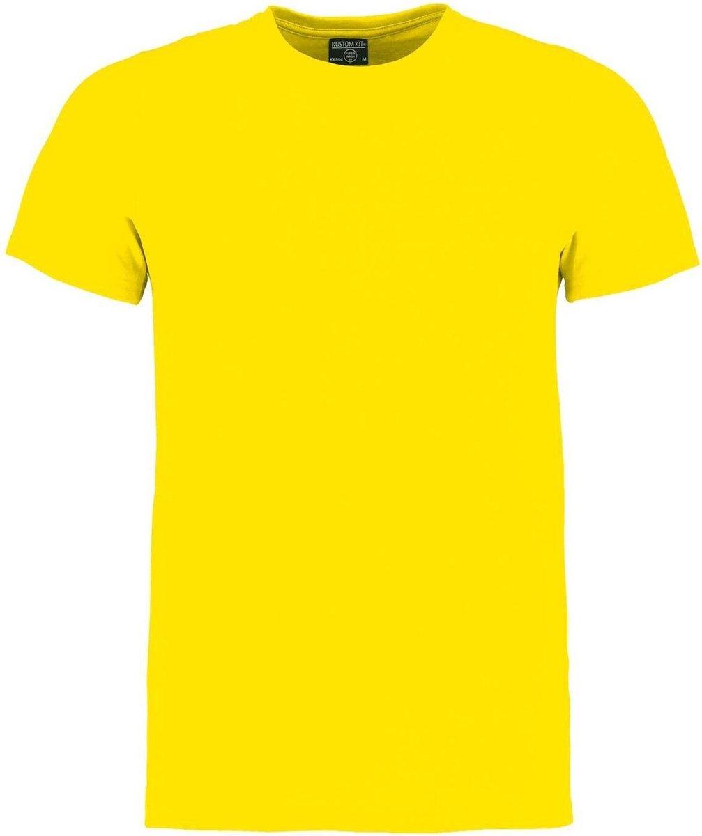 Kustom Kit Heren Superwash 60 Fashion Fit T-Shirt (Heldere gele mergel)