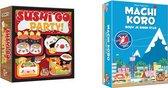 Spellenbundel - Kaartspel - 2 stuks - Sushi Go Party & Machi Koro Basisspel