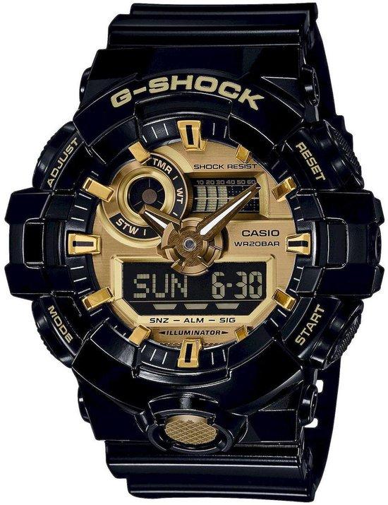 Casio G-Shock Heren HorlogeGA-710GB-1AER - 53 mm