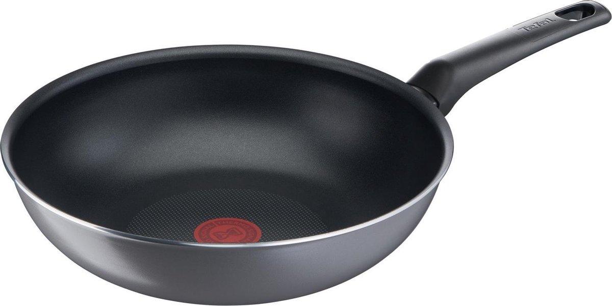 Tefal Easy Plus Wokpan -   28 cm - Niet geschikt voor inductie