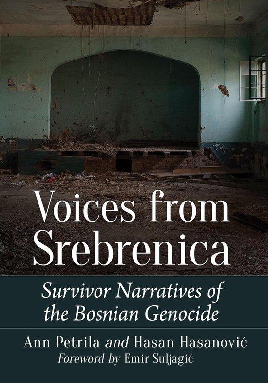Boek cover Voices from Srebrenica van Ann Petrila (Onbekend)