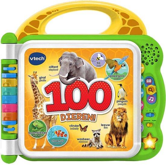 VTech Baby Mijn Eerste 100 Woordjes Dieren – Interactief Boek