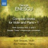 Strauss Axel/Poletaev Ilya - Enescu: Compl. Works F. Violin 1