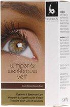 Wimper / Wenkbrauwverf - Brown/Black