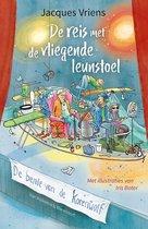 Boek cover De bende van De Korenwolf  -   De reis met de vliegende leunstoel van Jacques Vriens (Hardcover)