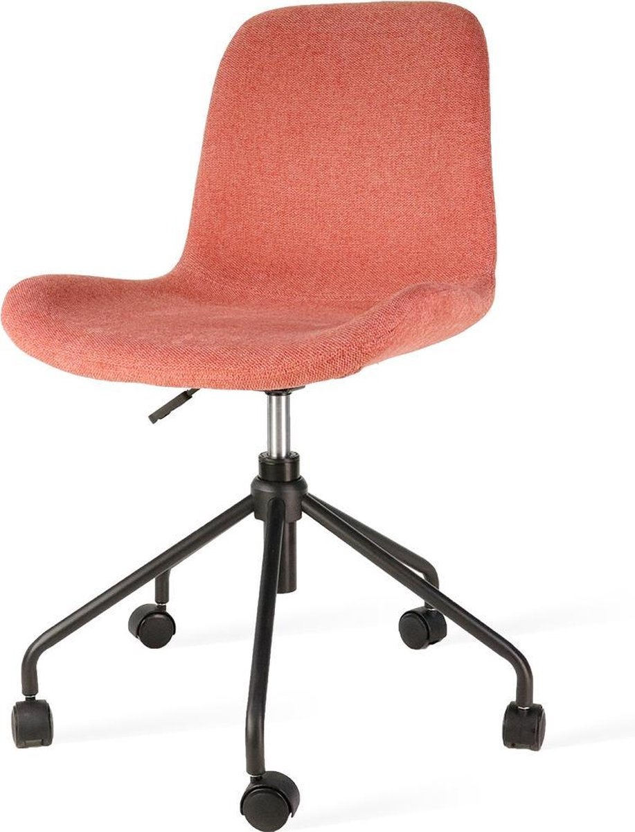 Nolon Nout bureaustoel zwart - Terracotta rode zitting