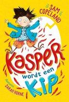 Boek cover Kasper 1 - Kasper wordt een kip van Sam Copeland