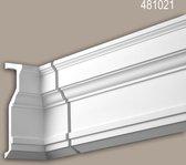 Binnenhoek Profhome 481021 Exterieur lijstwerk Hoeken voor Wandlijsten Gevelelement neo-classicisme stijl wit