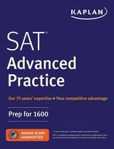 Boek cover SAT Advanced Practice van Kaplan Test Prep