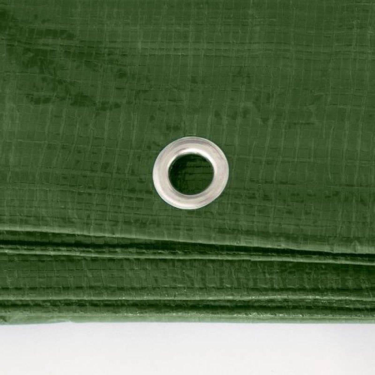 Afdekzeilen / dekkleden 100 g/m² - 3,00 m x 4,00 m - groen