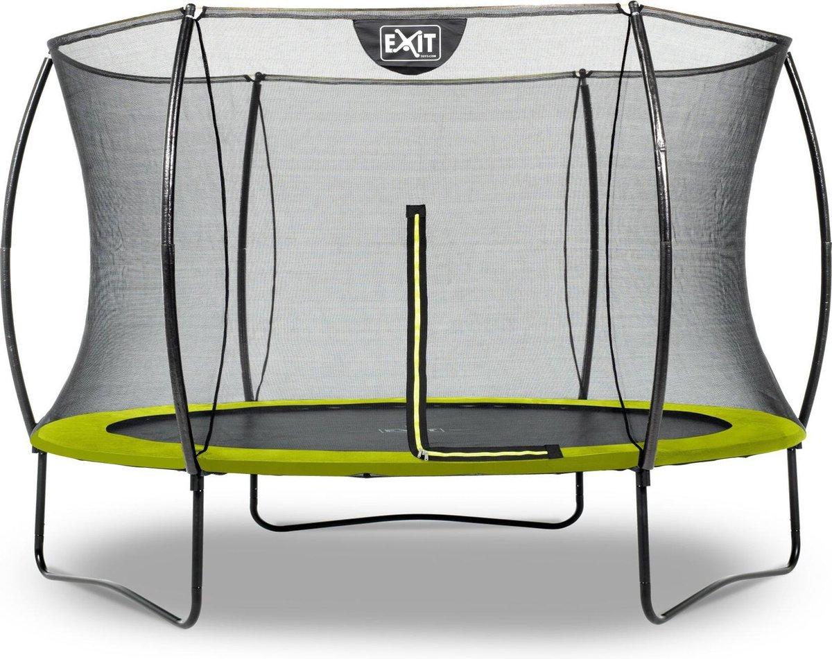 Trampoline EXIT Silhouette - ø305cm - groen