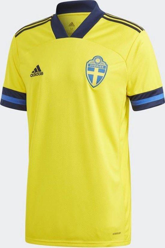 Adidas Adidas Zweden Thuisshirt EK 2020 Geel Heren