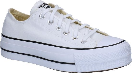 Converse Dames Sneakers Chuck Taylor Allstar Lift - Wit - Maat 41