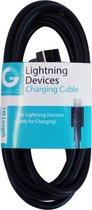 GnG Grab n Go Lightning naar USB Kabel 1 Meter Zwart
