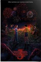 Stranger Things One summer - Poster 61 x 91 cm