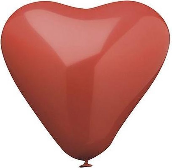 Ballon hart - 10 stuks