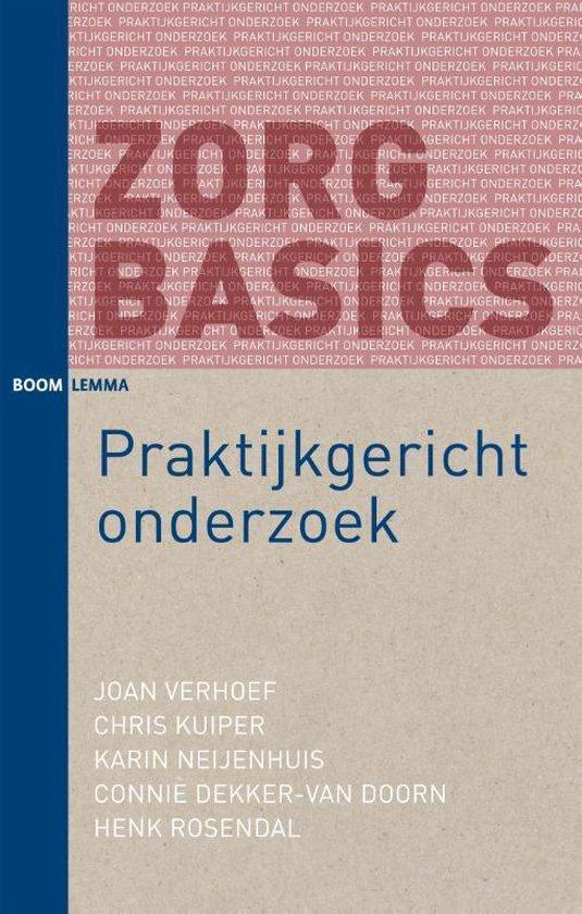 Boek cover ZorgBasics - Praktijkgericht onderzoek van Joan Verhoef (Paperback)