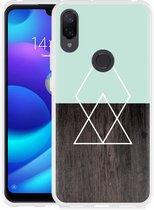 Xiaomi Mi Play Hoesje Wood Simplicity
