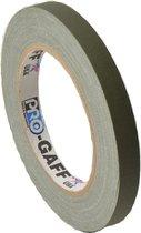 Pro  - Gaff  gaffa tape 12mm x 22,8m olive drap