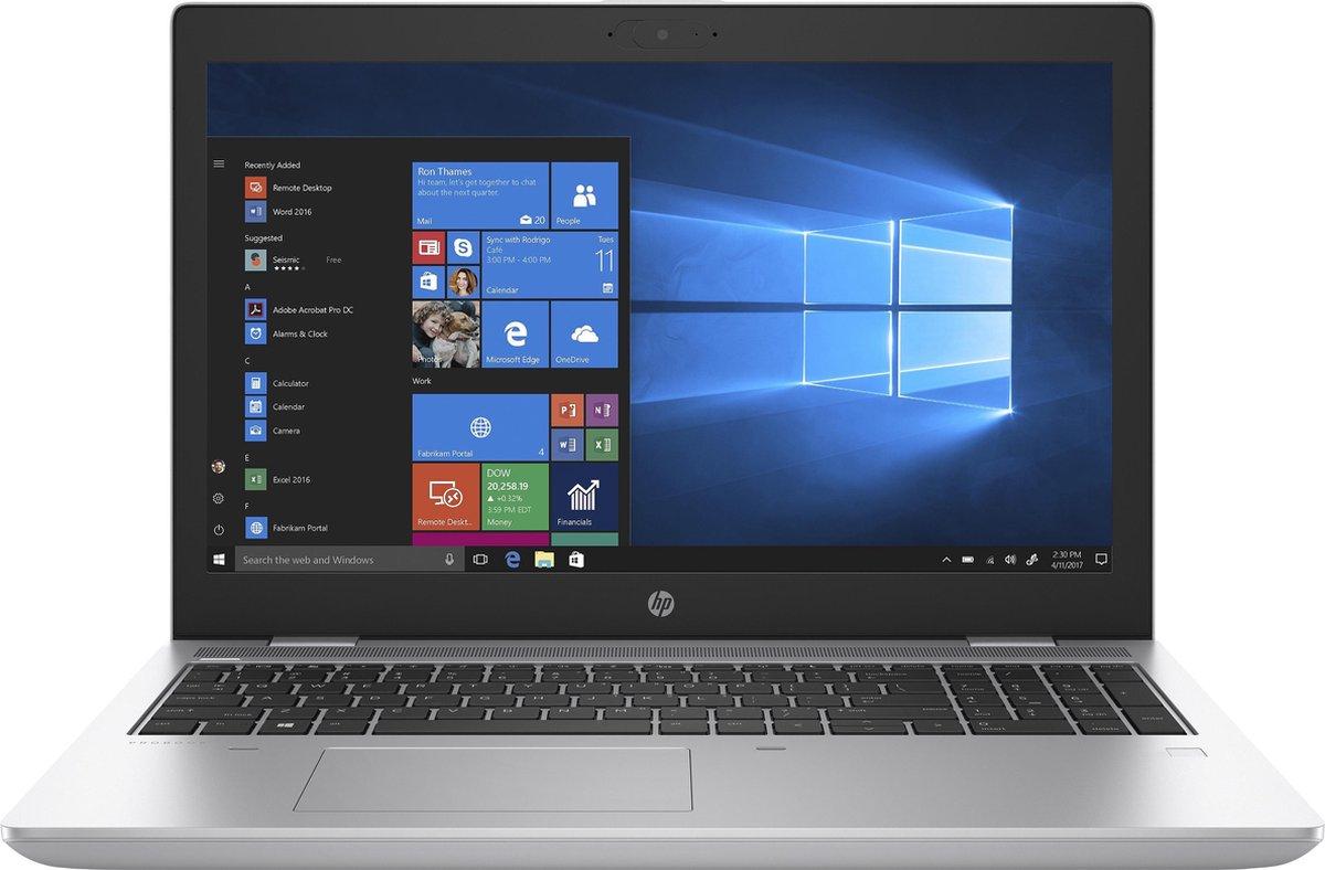 HP ProBook 650 G5 i5-8265U 15.6inch FHD AG UWVA 250 WWAN enabled HD webcam 8GB 1D DDR4 2400 512GB PCIe NVMe Value UMA W10P