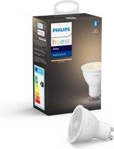 Philips Hue Slimme Lichtbron GU10 - White - 5,7W - Bluetooth