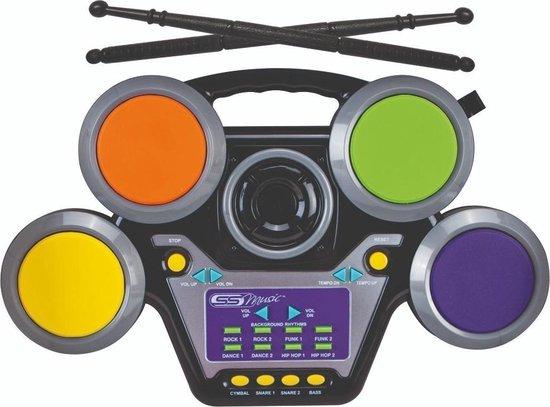 Afbeelding van het spel SS Music Jazzin Drum Elektrisch Drumstel