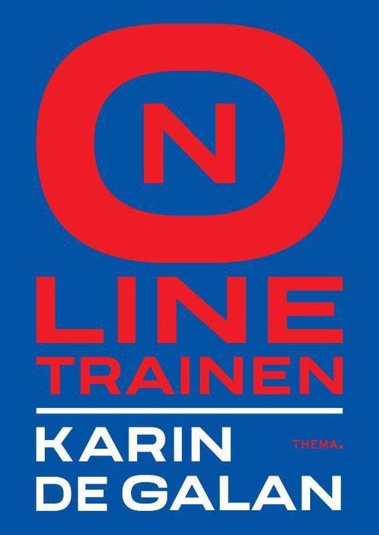 Boek cover Online trainen van Karin de Galan (Paperback)