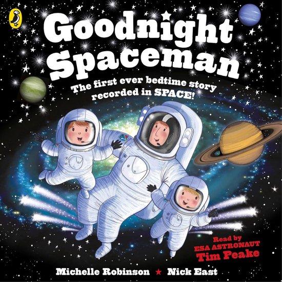Boek cover Goodnight Spaceman van Michelle Robinson (Onbekend)