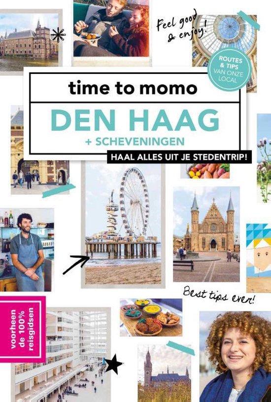 Boek cover time to momo Den Haag + Scheveningen van Lorraine Wernsing (Paperback)