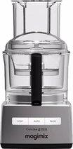 Magimix CS 4200XL - Foodprocessor - Professionele motor - 30 jaar motorgarantie - Mat Chroom