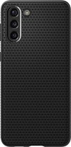 Spigen - Samsung Galaxy S21 Hoesje - Back Case Liquid Air Mat Zwart